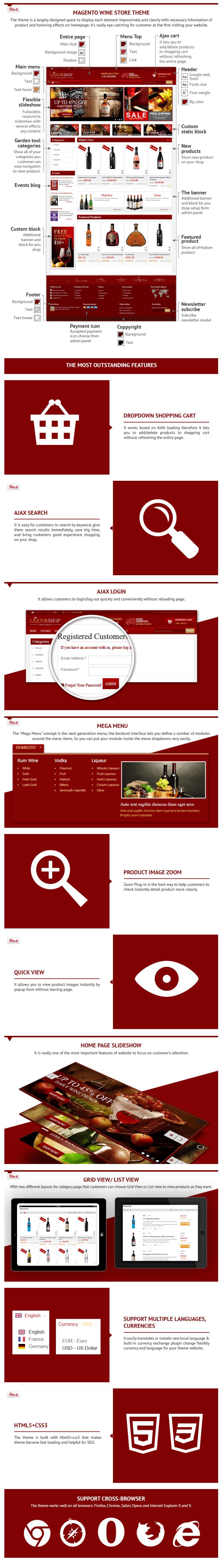 Magento Wine Store Theme