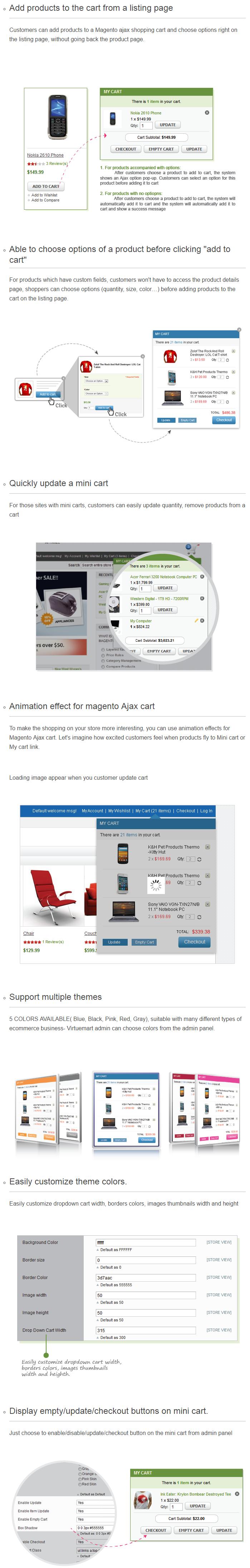 Magento Ajax Cart Pro (1)