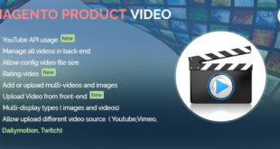 Enrich your website with Magento extensions: Product video