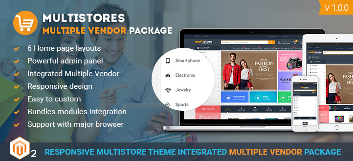 magento multi vendor theme