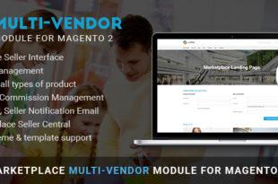 Magento multi vendor module