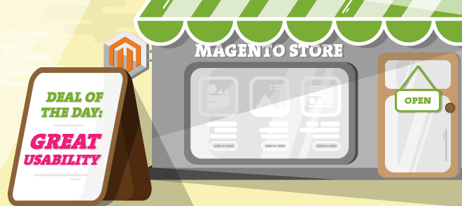 What are the best practices for usability of Magento ecommerce website?