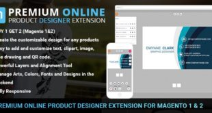 How to install Magento online design extension into your site