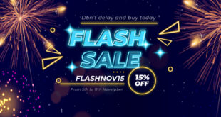 Don't Delay And Buy Today – Flash Sale – 15% Off For All